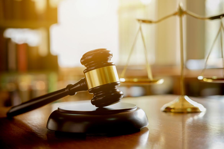 A judge gavel.